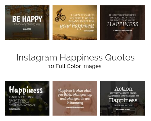 instagram happiness quote pack done for you tlc for coaches